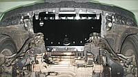 Nissan Navara 2005-2010 защита радиатора Полигон авто