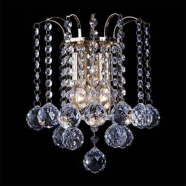 Оригинальная кристальная настенная лампа