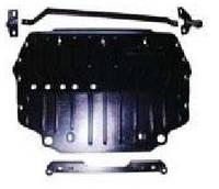 Skoda Yeti 2009-on защита картера двигателя Полигон Авто