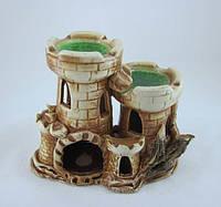 Кераміка для акваріума Фортецю башту, 16х14 див., фото 1