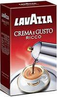Кава мелена Lavazza Crema e Gusto GUSTO RICCO (в кольоровий уп.) 250г