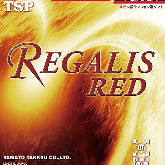 Накладка для настольного тенниса TSP Regalis Red - RAKSIT- магазин настольного тенниса  в Днепре