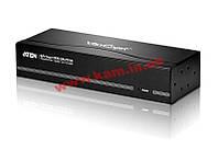 Разветвитель Video Splitter/ усилитель, электронный, VGA/ SVGA/ MultiSync+AUDIO, 1> 8 мон (VS-1208T)