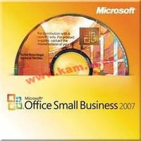 Программное обеспечение Microsoft Office Small Business 2007 32-bit English DVD (9QA-00443)