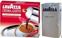 Кофе молотый Lavazza Crema e Gusto GUSTO RICCO (в серой уп.) 250г