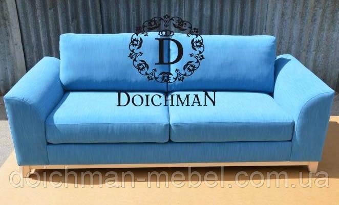 Диван двухместный нераскладной для приемной офиса, кабинета, студии  - Производитель мебели DOICHMAN furniture (Дойчман мебель), филиал мебельной фирмы Польша в Киеве