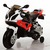 Мотоцикл детский JT 528E-3 BMW/БМВ, EVA колёса***