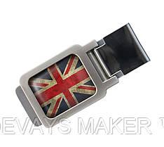Зажим для денег Great Britain flag
