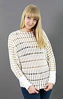 Молодежный свитерок красивой вязки