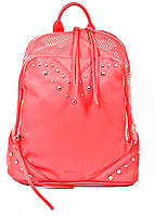 Молодежная сумка рюкзак для девочки 1 Вересня красная (553097)