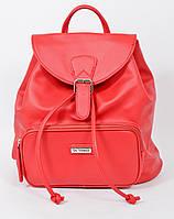 Молодежная сумка рюкзак для девочки 1 вересня красная (553080)
