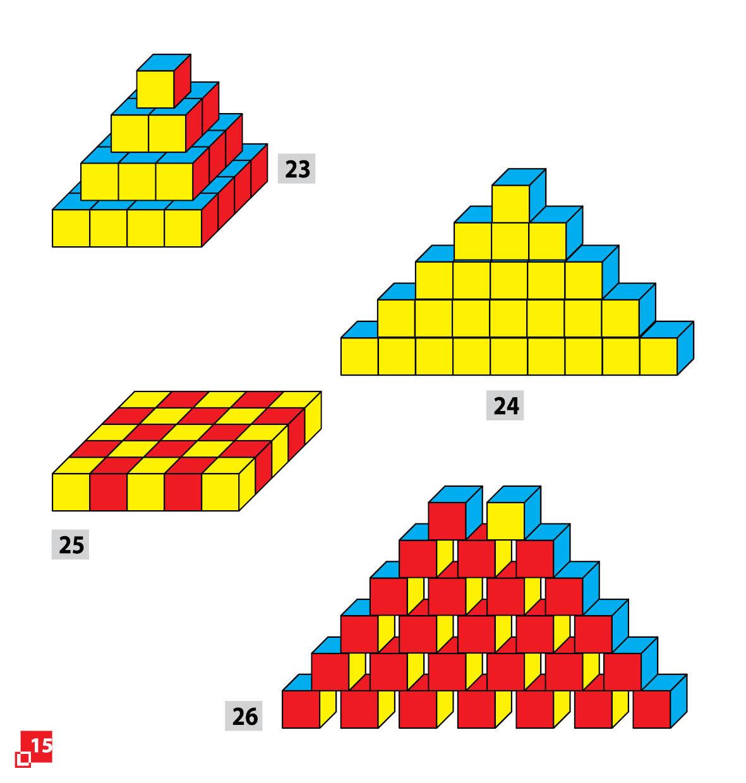 Уникуб, методика Никитина, деревянные кубики 3х3см - фото 5