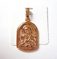 Иконка Божья матерь, 0108 медицинская сталь+ювелирный сплав