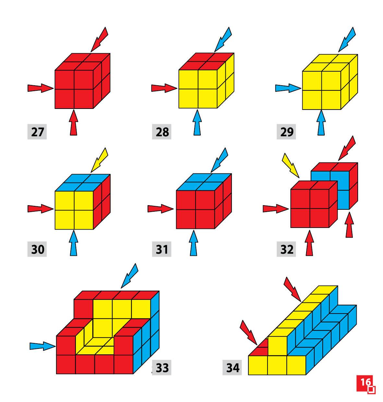 Уникуб, методика Никитина, деревянные кубики 3х3см - фото 6