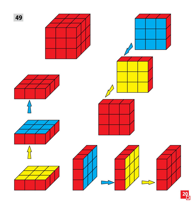 Уникуб, методика Никитина, деревянные кубики 3х3см - фото 7
