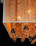 Золотиста люстра для великих кімнат, фото 2