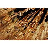Золотиста люстра для великих кімнат, фото 3