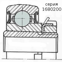 Подшипник  шнека комбайна Дон 1200, 1500