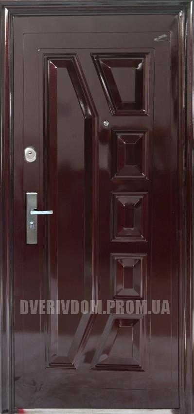 Входные двери ААА Богатырь 003 автолак вишня