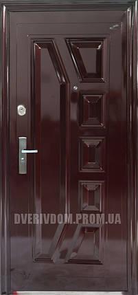 Входные двери ААА Богатырь 003 автолак вишня, фото 2