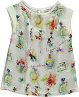 """Блузка детская Tm Bombili """"Парфюм"""" на девочку (Турция)/ рост 92 см (2 года) / искусственный шёлк"""