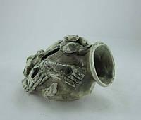 Кераміка для акваріума Амфора мала, 12х10 див., фото 1