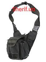 Сумка через плечо  многофункциональная MIL-TEC 13726502 Black