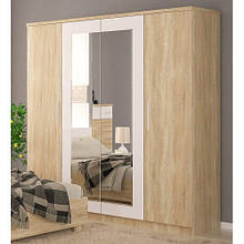 Шкаф 4Д МАРКОС (Мебель-Сервис)