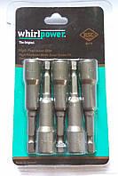 Головка магнитная Whirlpower 8*65 мм. (блистер 5 шт.)