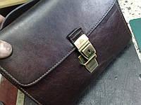 Ремонт замка на мужской сумке Tony Perotti