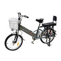 Электровелосипед VEOLA FB 60В 450Вт литиевая батарея 11Ач, фото 1