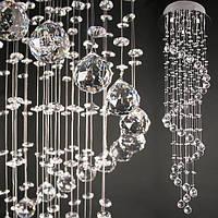 Люстра потолочная с 279 кристаллами