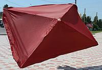 Зонт для торговли 2*3 м, на 4 спицы, ассортимент цветов, прямоугольная форма