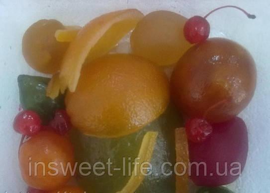 Суміш цілих фруктів зацукрованих 0,9 кг/упаковка