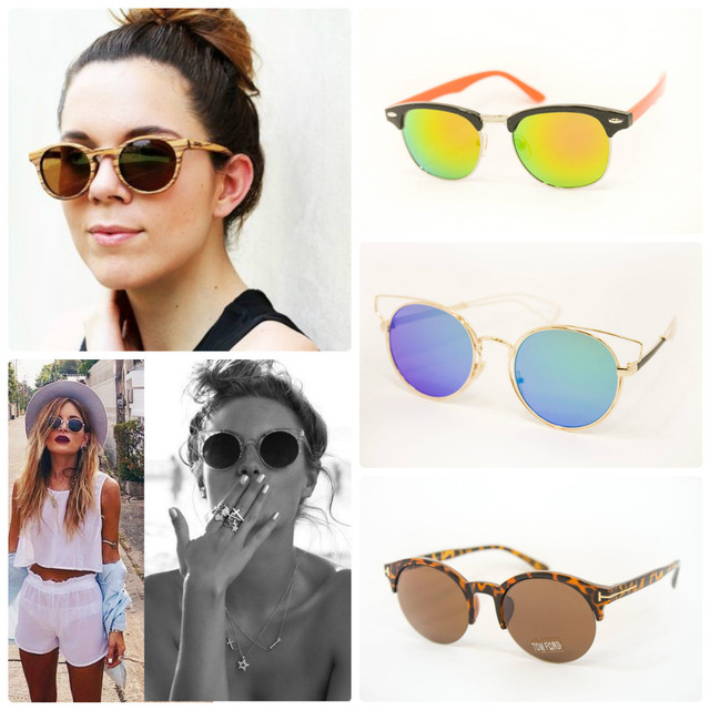 ... форма – это настоящее ретро, с которого когда-то началась мода на солнцезащитные  очки. В сезоне весна-лето 2016 дизайнеры вдохнули в тишейды новую жизнь c806d18cd94