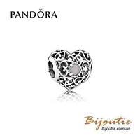 Pandora шарм СЕРДЦЕ-ТАЛИСМАН 791784MSG серебро 925 Пандора оригинал
