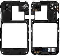 Средняя часть корпуса HTC T328w Desire V Black