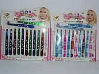 Наборы маникюрных пинцетов  Aishili 7267 , прибор для ухода за бровями, пинцет косметический, красота