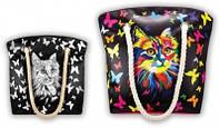 Расписная сумочка Color Bag Кот (CОВ-01-05 Danko Toys)