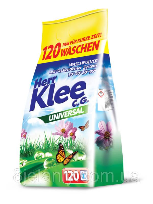 Стиральный порошок Klee Universal 10 кг 120 стирок Германия