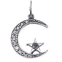 Исламский кулон из серебра Месяц со звездой 33884