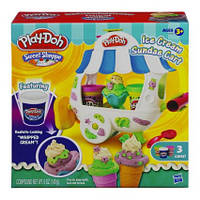 Игровой набор Плей До - Фургончик мороженого - Play-Doh Sweet Shoppe Ice Cream Sundae Cart Playset