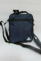 Сумка  Adidas (20410) синяя код 0431 А