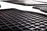 Резиновый водительский коврик в салон Seat Toledo IV (NH) 2011- (STINGRAY), фото 3