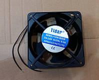 Вентилятор осевой универсальный Tidar 120мм*120мм*38мм / 220-240V / 0,14А / 23W (КВАДРАТНЫЙ), фото 1