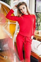 Спортивный костюм женский.Ткань:трикотаж.Размер: С - М ,М - Л.Цвета: Черный,Красный,Серый,Бутылка.AA 020