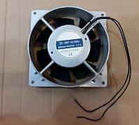 Вентилятор осевой универсальный XF1232ASHL (копия ВН-2В) - 130мм*130мм / 220-240V / 0,11А / 14W (КРУГЛЫЙ), фото 1