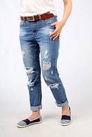 Стильные женские джинсы бойфренды на лето.