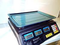 Торговые весы Wimpex 50 кг 4V Цена деление 2 грамма Новинка , фото 1