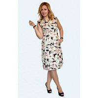 Очень стильное и красивое летнее платье